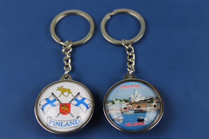 products-Two sided key chain